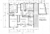 **VERKAUFT**  Sonniges 1-2 Familienhaus mit Blick in Feld und Wiesen - Grundriss  Erdgeschoss