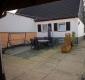 **VERKAUFT**Doppelhaushälfte mit Nebengebäude !!! - Hintere Hausansicht mit Terrasse