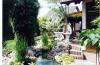 **VERKAUFT**DIETZ:  Wohlfühlvilla der Extraklasse.  Mit Traumgarten im Japan-Stil ! - Blick über den Teich (Nur Teilansicht)