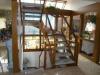**VERKAUFT**DIETZ:  Wohlfühlvilla der Extraklasse.  Mit Traumgarten im Japan-Stil ! - Der Treppenaufgang