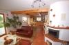 **VERKAUFT** DIETZ:  Top MODERNES Landhaus für gr. Familien mit Gewerberäumen. - Blick Kamin und Küche