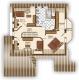 **VERKAUFT**DIETZ:  Architektenhaus: Großzügig-EXKLUSIV, funktional und  lichtdurchflutet, mit ELW !!! - Grundriss Obergeschoss