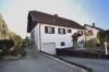 DIETZ: **VERKAUFT**Liebhaberimmobilie ! Süddeutsche Architektur  trifft außergewöhnliche Feldrandlage! - Außenansicht mit Garage