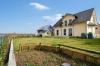 **VERKAUFT**DIETZ: Neuwertiges Traumhaus in bester Feldrandlage von  Schaafheim mit Doppelgarage und Vollkeller! - Außenansicht
