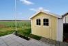 **VERKAUFT**DIETZ: Neuwertiges Traumhaus in bester Feldrandlage von  Schaafheim mit Doppelgarage und Vollkeller! - Gartenhütte INKLUSIVE