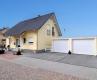 **VERKAUFT**DIETZ: Neuwertiges Traumhaus in bester Feldrandlage von  Schaafheim mit Doppelgarage und Vollkeller! - Weitere Außenansicht