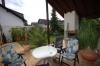 **Verkauft**Schaafheim: DIETZ:Intelligent geplantes massives Haus mit Galerie in bester Lage !!! - Blick von der Terrasse
