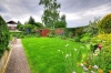 **VERKAUFT** DIETZ: Feines gepflegtes 1-2 Familienhaus in herrlicher Feldrandlage in Münster wartet auf neuen Eigentümer! - Blick in den Garten