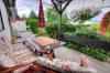 **VERKAUFT** DIETZ: Feines gepflegtes 1-2 Familienhaus in herrlicher Feldrandlage in Münster wartet auf neuen Eigentümer! - Blick auf die Terrasse