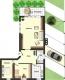 **VERKAUFT**DIETZ: Erdgeschoss-, Terrassen-, Gartenwohnung mit Einbauküche und Car-Port! Nur 5 min Gehweg zur S-Bahn - Grundriss