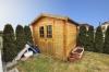 **VERKAUFT**DIETZ: Neuwertiger moderner Bungalow , Baujahr 2008, ideal für jung und alt. Mit Garage, EBK, Garten uvm.! - Gartenhütte Inklusive