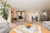 **VERKAUFT**DIETZ: Neuwertiger moderner Bungalow , Baujahr 2008, ideal für jung und alt. Mit Garage, EBK, Garten uvm.! - Wohn und Essbereich
