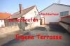 **VERKAUFT**DIETZ: Zweifamilienhaus mit großer Garage, Vollkeller, Terrasse und Hofeinfahrt - Terrassenansicht
