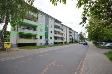 **VERKAUFT**DIETZ: 3-Zimmer-Wohnung mit großer Loggia in Groß-Umstadt Adenauerring, 64823 Groß Umstadt, Etagenwohnung