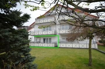 **VERKAUFT**DIETZ: Freiwerdende 2-Zimmer-Erdgeschosswohnung inklusive 2 Tiefgargaenstellplätze, 64859 Eppertshausen, Erdgeschosswohnung