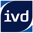 Logo des Immobilienverbands Deutschland, abgekürzt: IVD